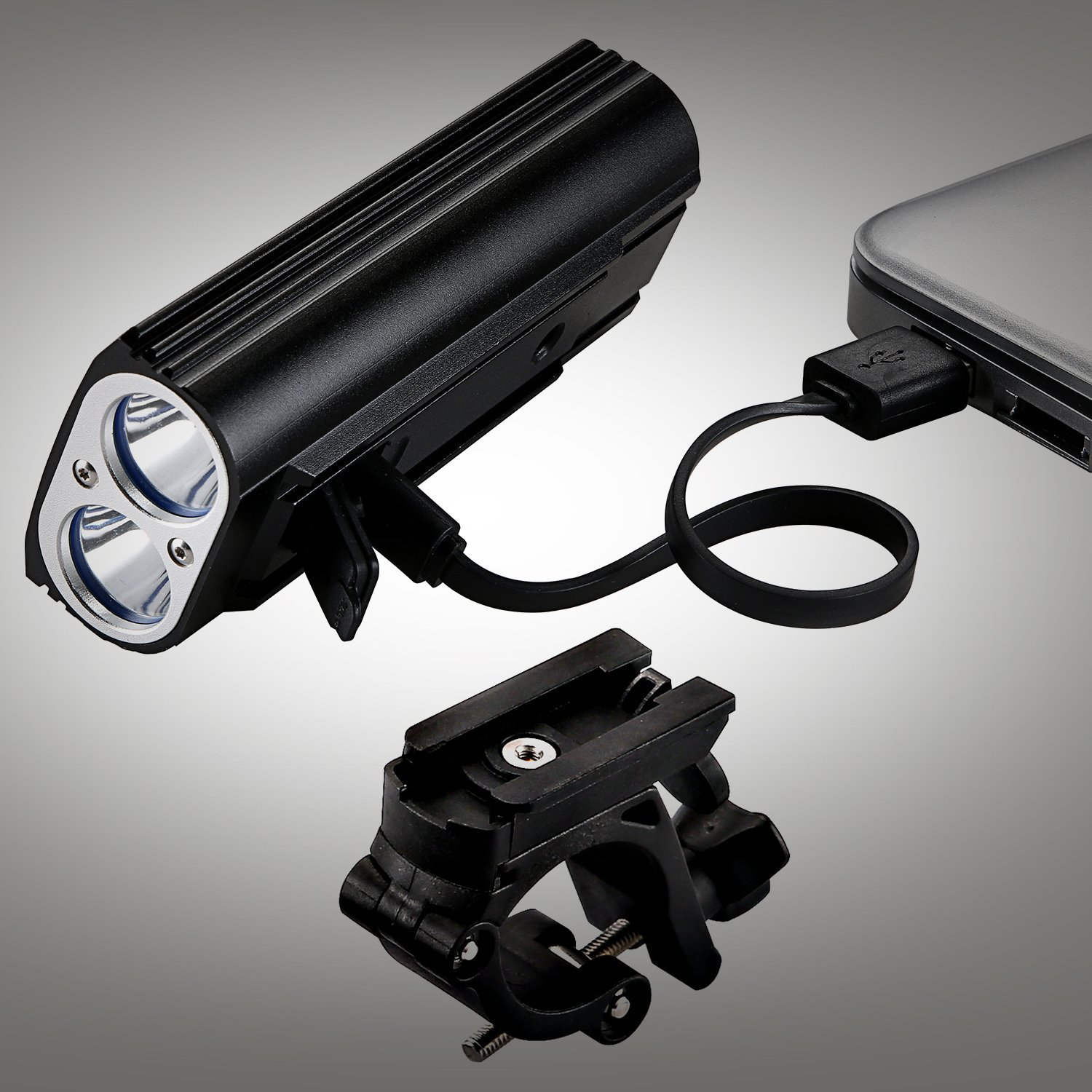 LED Rechargeable Bike Front Light X-8