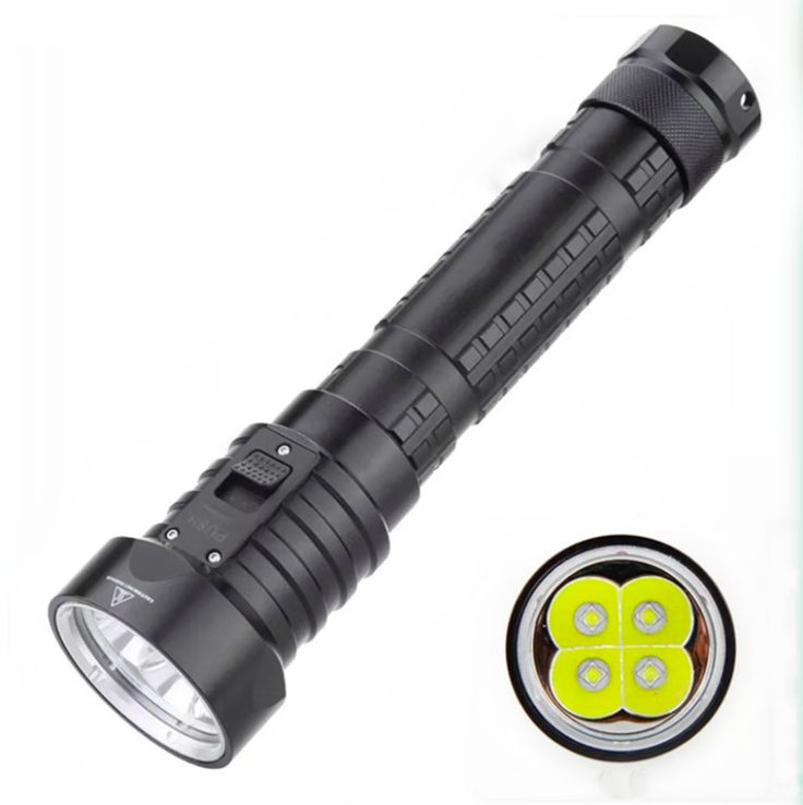 LED Rechargeable Diving Flashlight DX-4S
