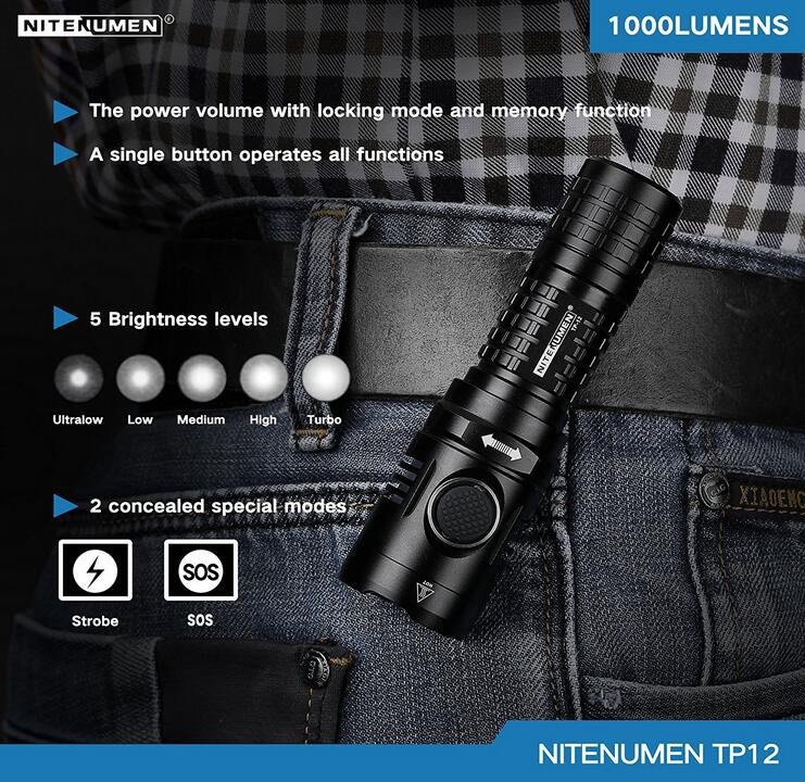 World's Smallest and Lightest USB18650 Flashlight NL01
